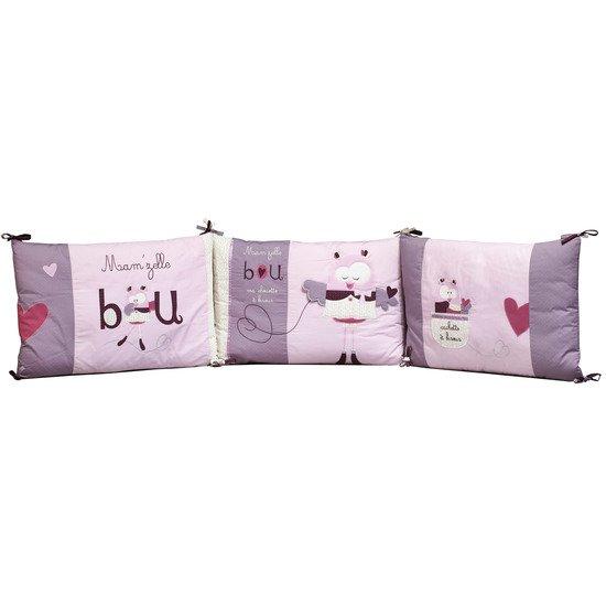 Mam\'zelle Bou tour de lit Violet de Sauthon Baby Déco, Tours de lit ...