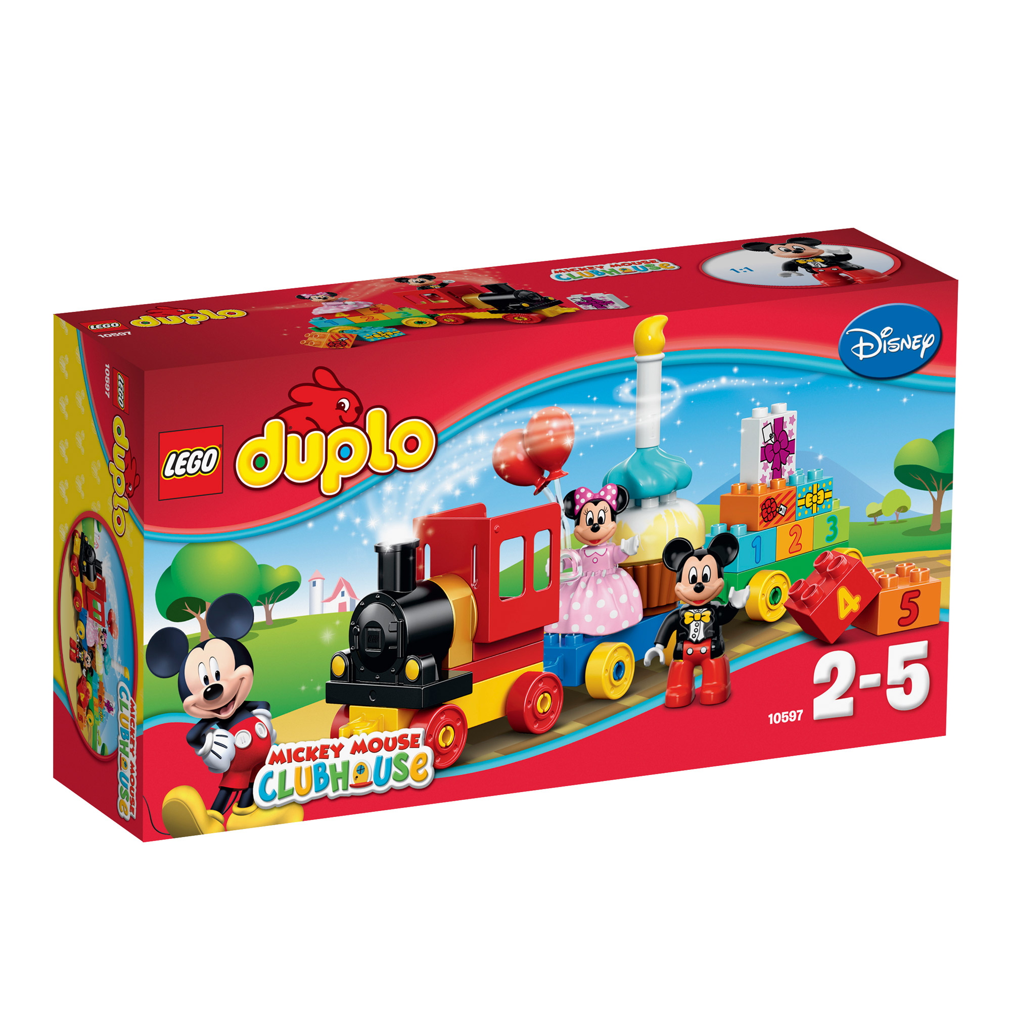 La parade d'anniversaire Mickey Minnie Multicolore  de LEGO® DUPLO®