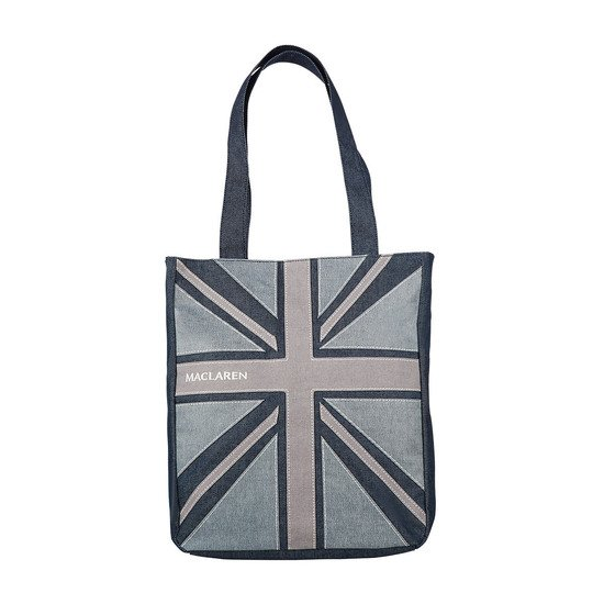 Sac à Langer Denim Flag Tote