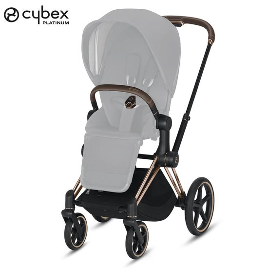 Priam Châssis Rose Gold  de Cybex