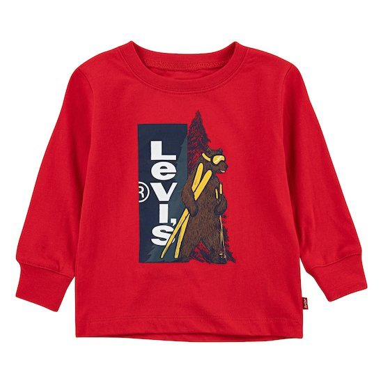 Sweat Graphic Tee Super Red  de Levi's Kids