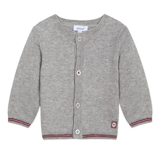 Cardigan tricot Collection Absorba Hiver 2019 Gris chiné  de Absorba