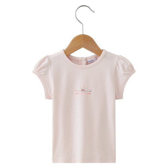 Mini Rose T-shirt Rose  de P'tit bisou