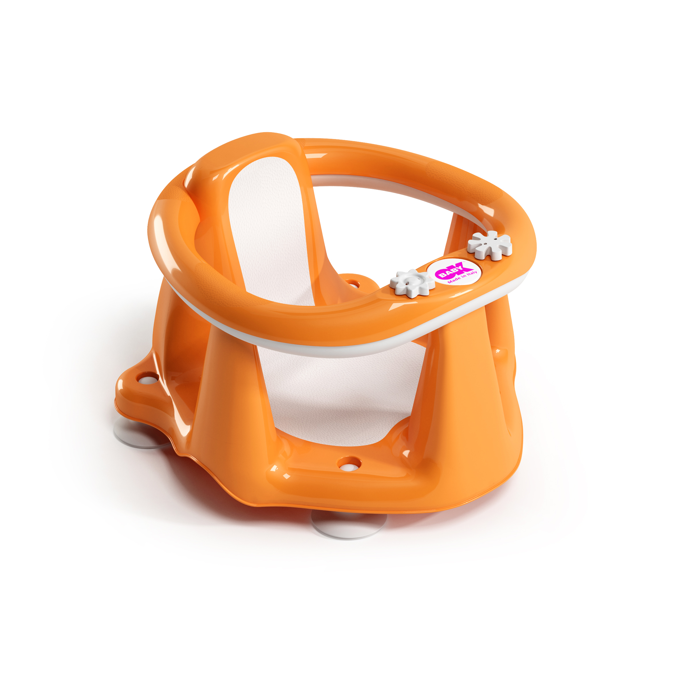 Flipper Evolution siège de bain Orange  de OK Baby