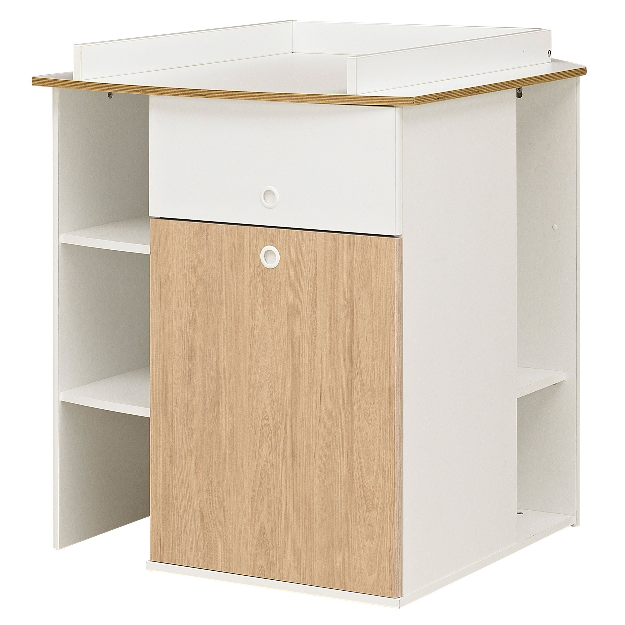 meuble langer d 39 angle 2 en 1 de galipette meuble langer aubert. Black Bedroom Furniture Sets. Home Design Ideas