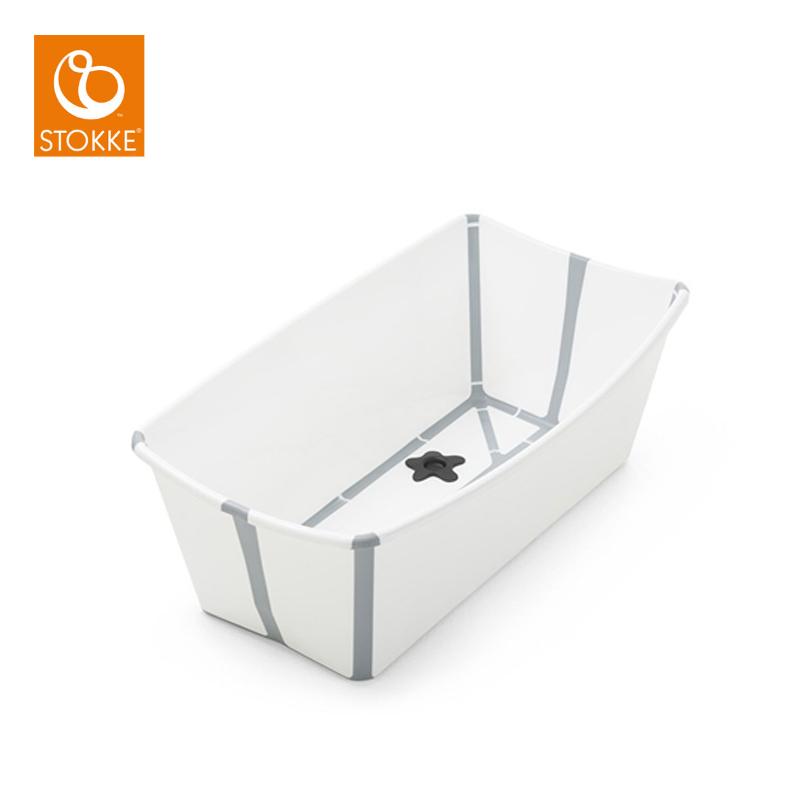 Baignoire Flexi Bath Blanc De Stokke Baignoires Aubert