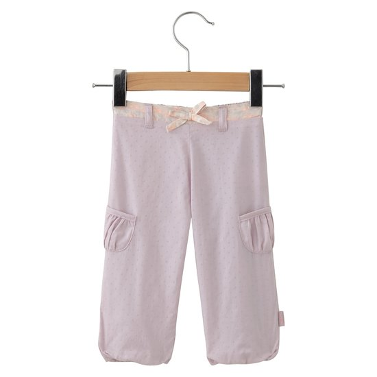 Mini Rose pantalon Rose  de P'tit bisou
