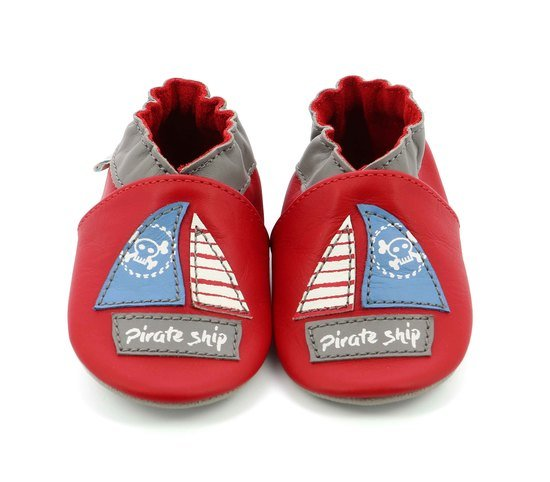 Chaussons pirate ship Rouge  de Robeez
