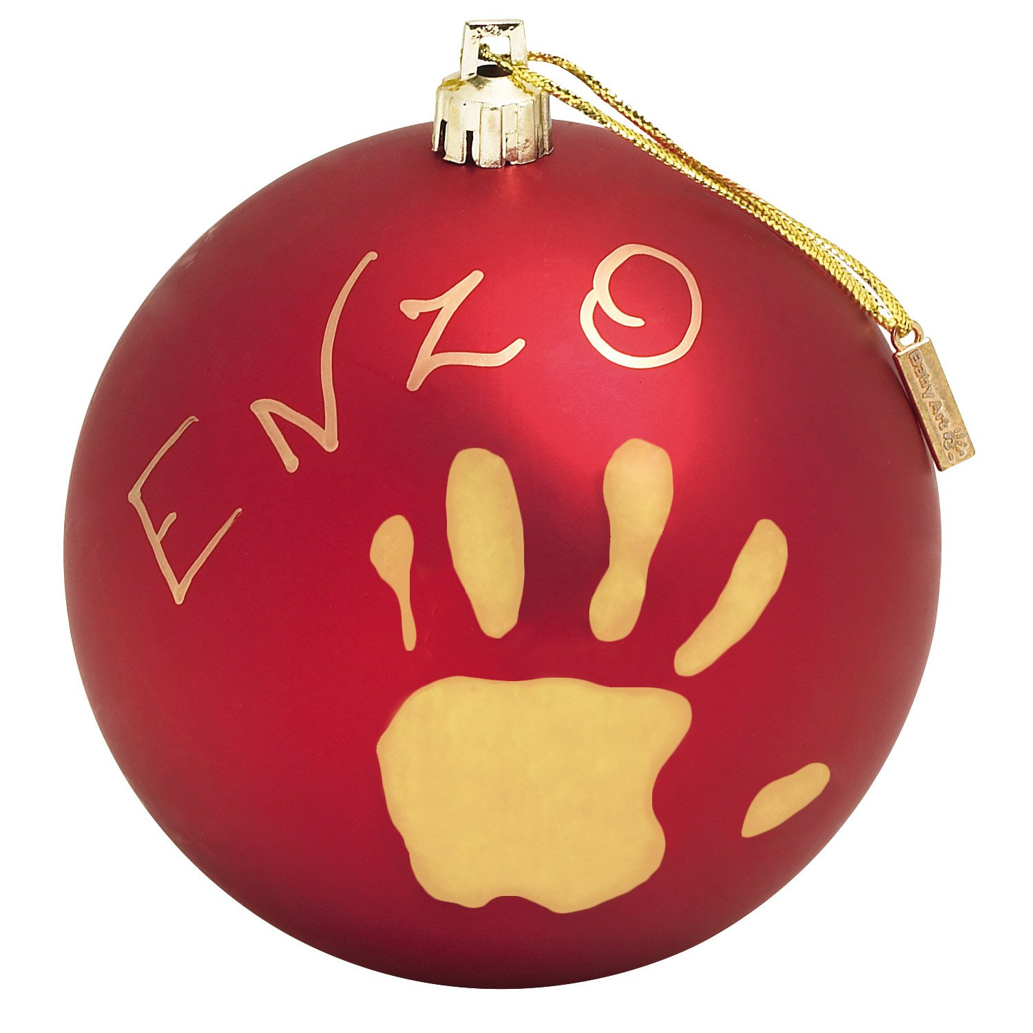 Baby Art Christmas ball Rouge  de Baby Art