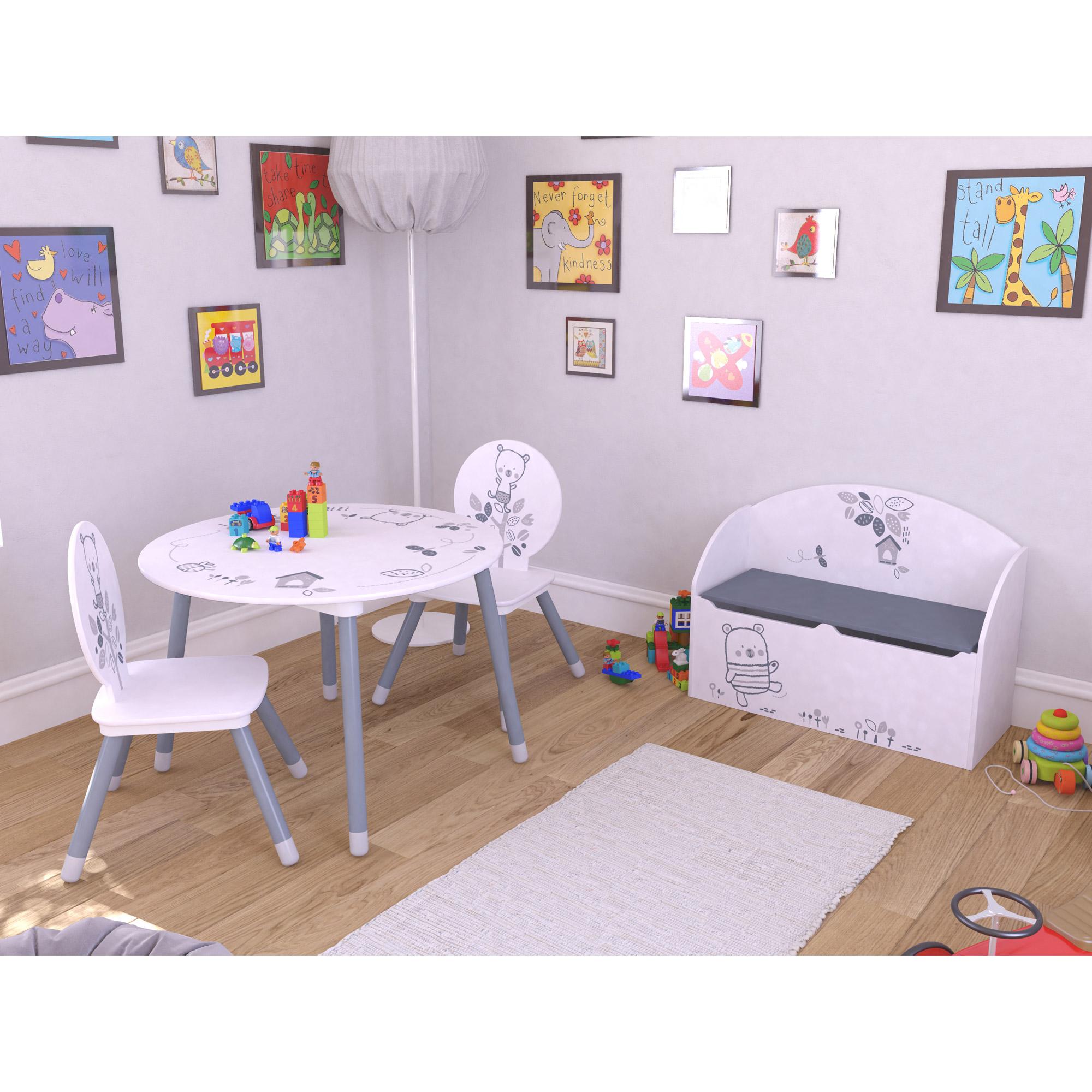 Bear set table et chaises Blanc  de Demeyere