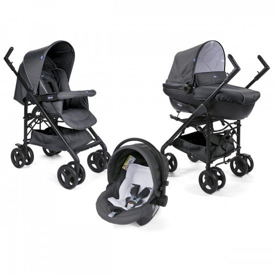 Trio Sprint Black Black Cool Grey  de Chicco