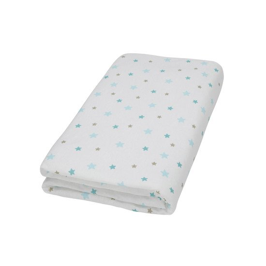 Flocon drap housse mousseline