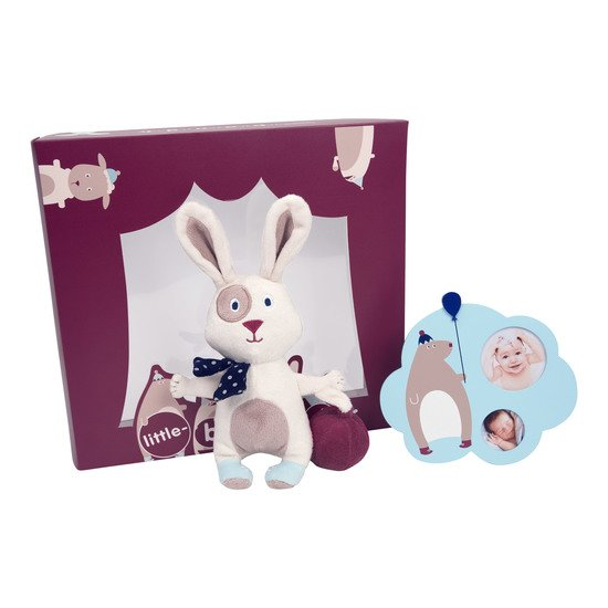 Balloon Company coffret peluche + cadre Multicolore  de Little Band