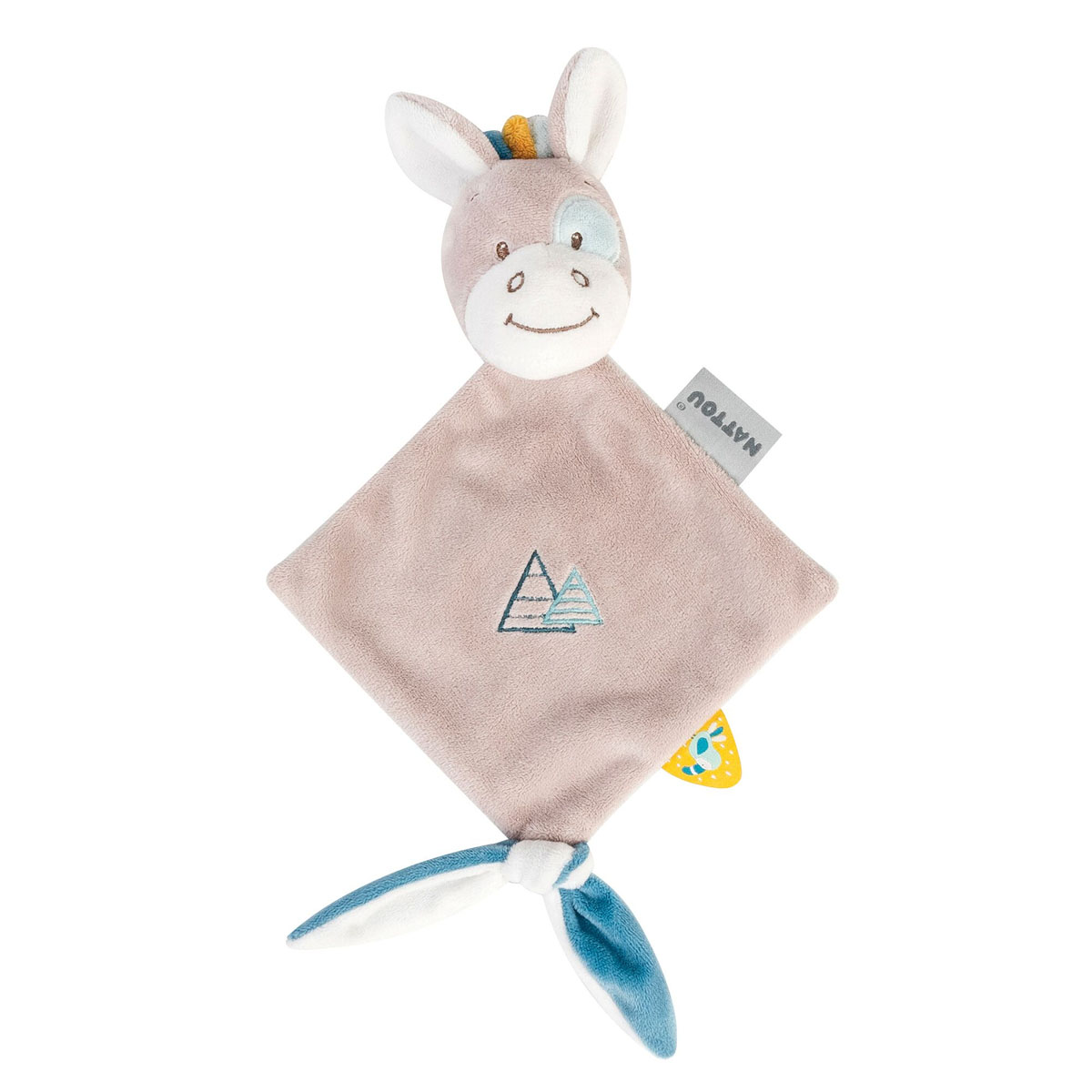 Tim & Tiloo mini doudou Tim le cheval  de Nattou