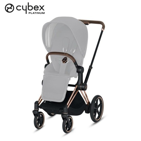 Châssis e-Priam  Rose Gold  de Cybex