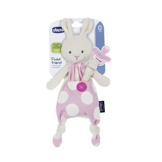 Doudou Attache Sucette Pocket Friend