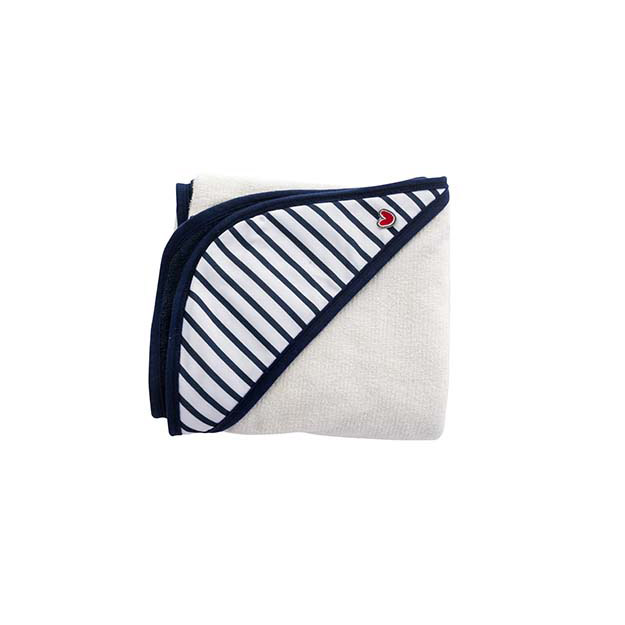 Serviette Papillon Blue stripes  de Babytolove