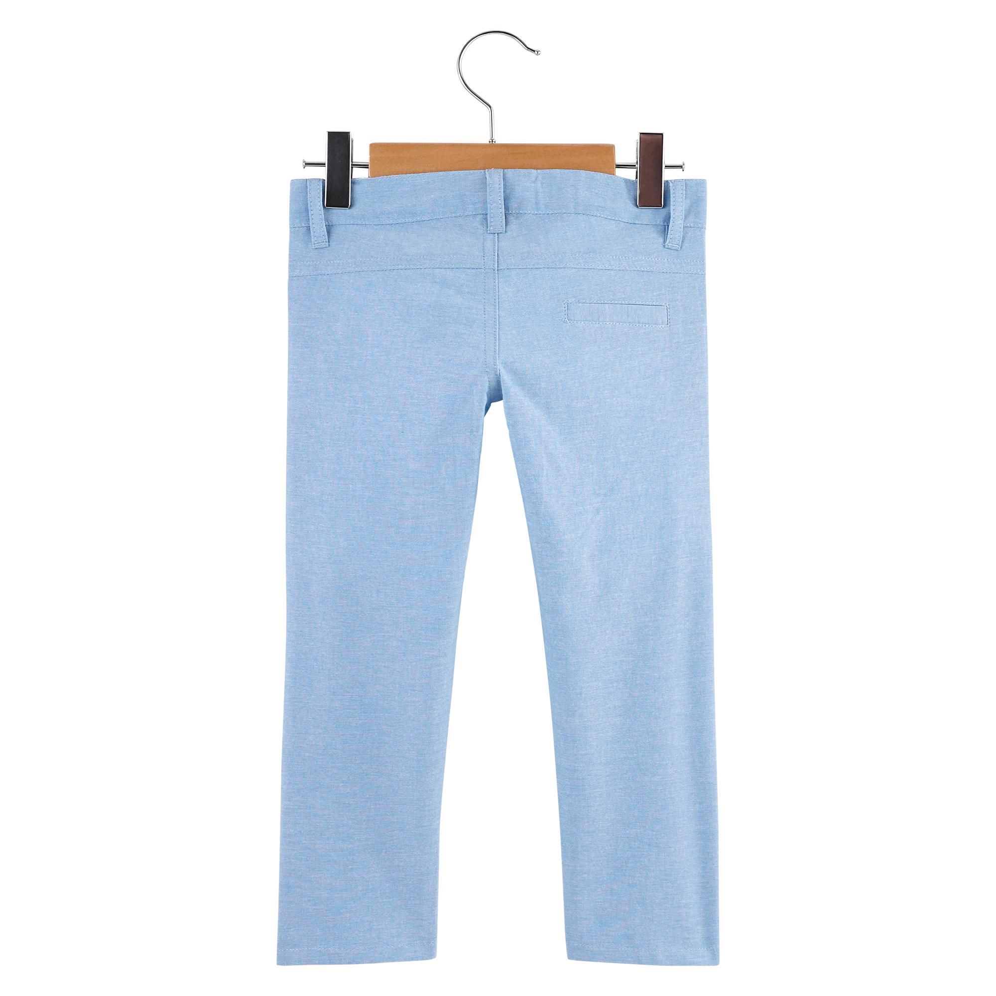 Pantalon Malibu Beach Bleu chambray  de Nano & nanette