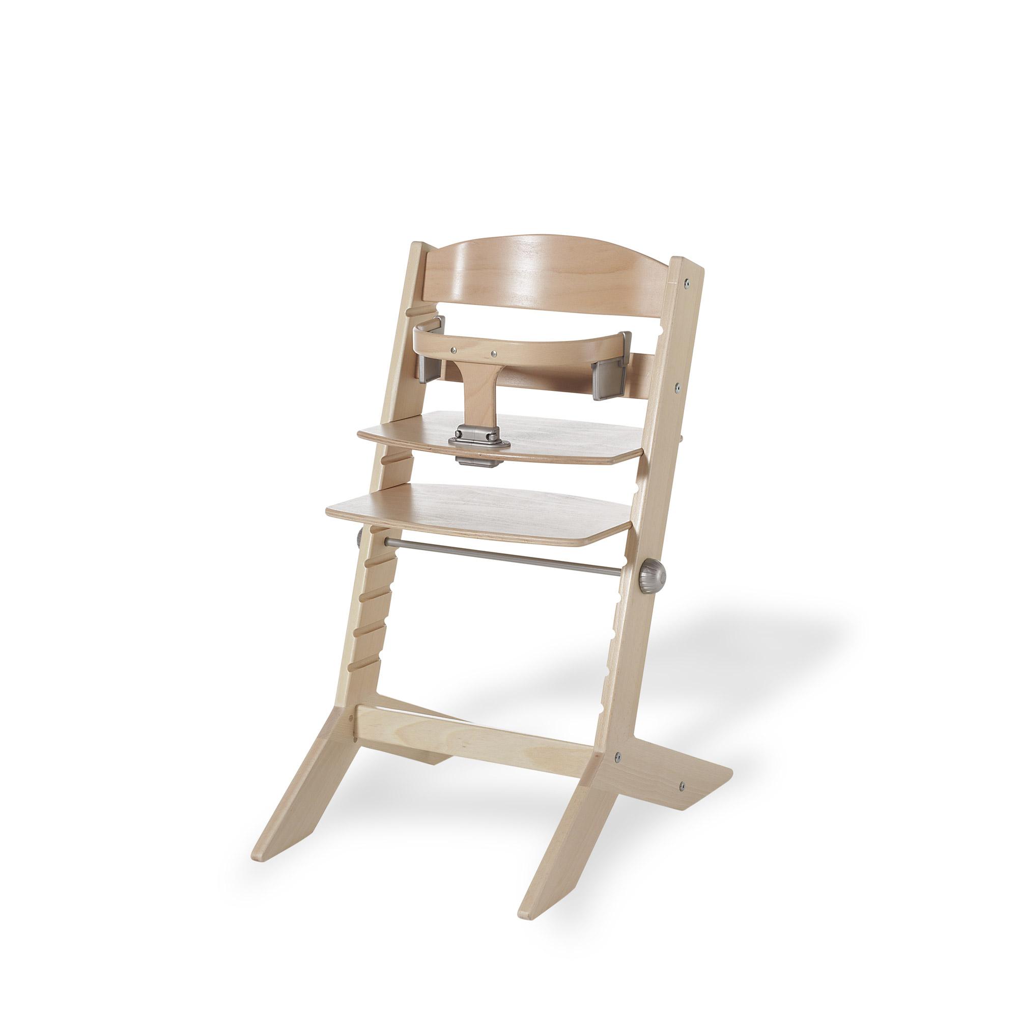 Chaise évolutive Syt avec arceau Naturel