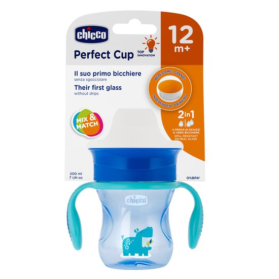 Tasse Perfect Membrane 360° Bleu 12M+ de Chicco