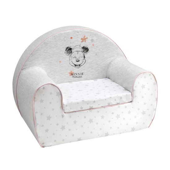 Mickey & Minnie fauteuil club + coussin