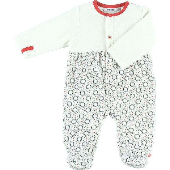 Timeless pyjama velours Blanc