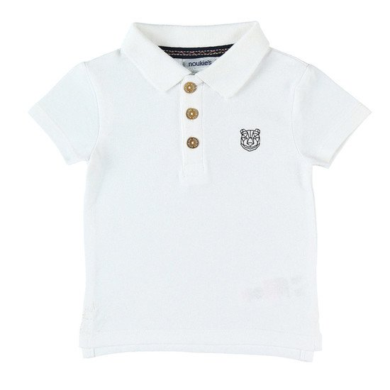 Polo collection Smart été 2019 Blanc  de Noukies