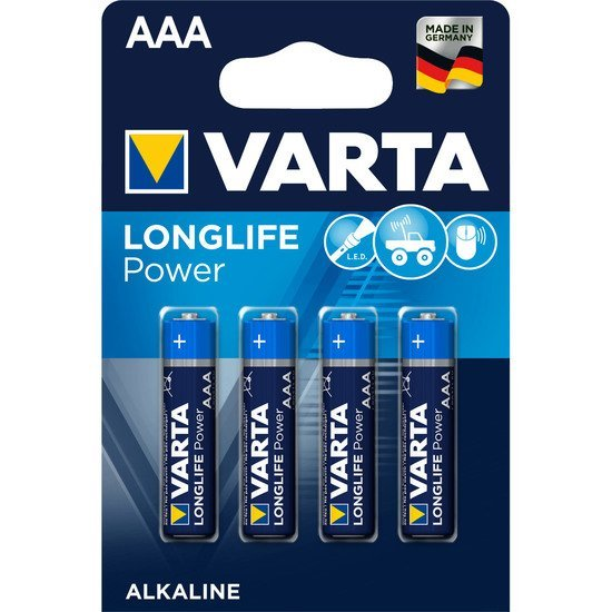 Longlife Power AAA/LR03 x4   de Varta