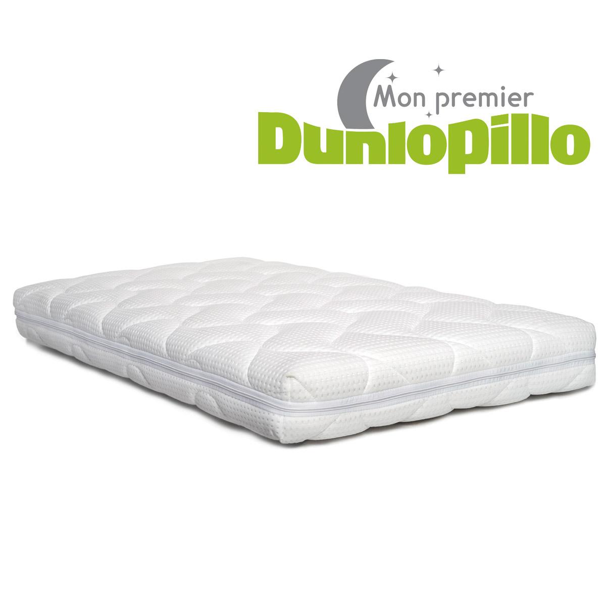 Matelas Poussin Blanc De Dunlopillo Matelas Bebe Aubert