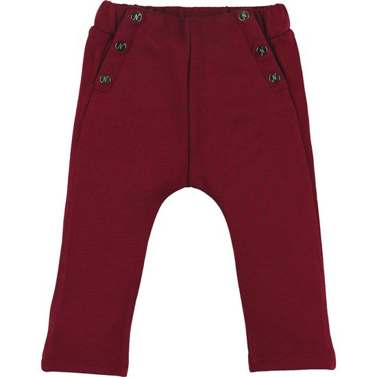 Pantalon Fille Milano Collection Smart Rouge bordeaux  de Noukies