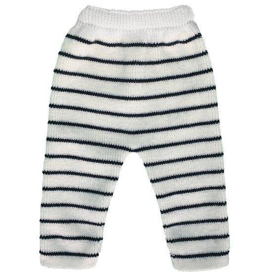 tricot/é en France Pantalon de Naissance b/éb/é Marin