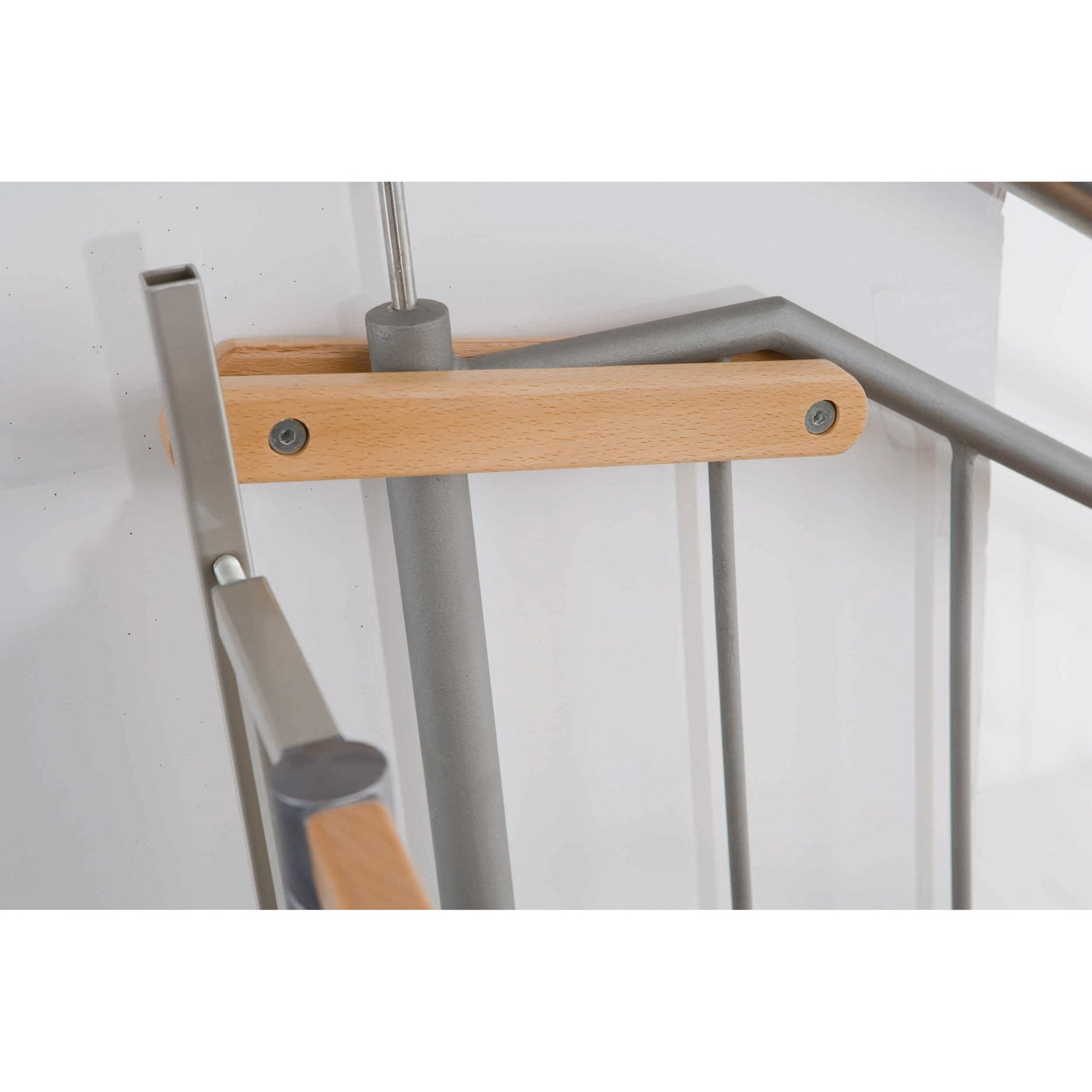 Kit d'escalier Easylock Bois/Métal  de Geuther