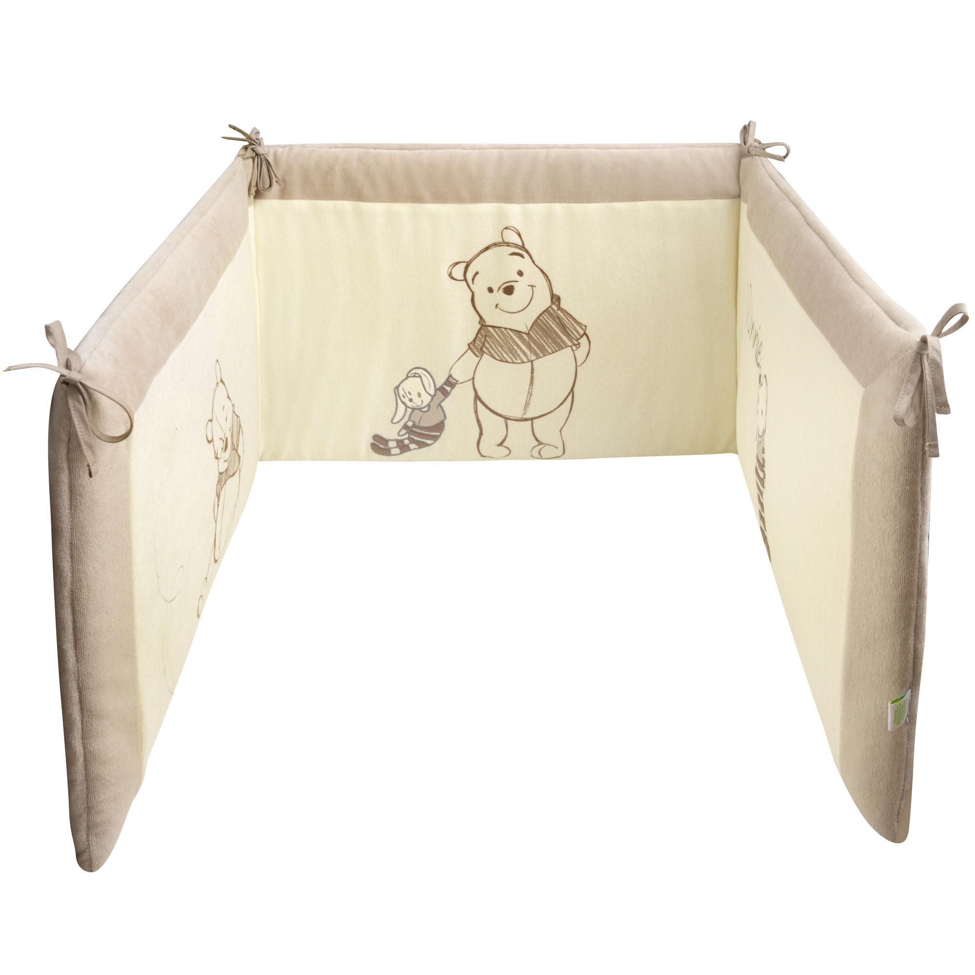 Winnie New tour de lit Ecru Beige de Disney Baby, Tours de lit : Aubert