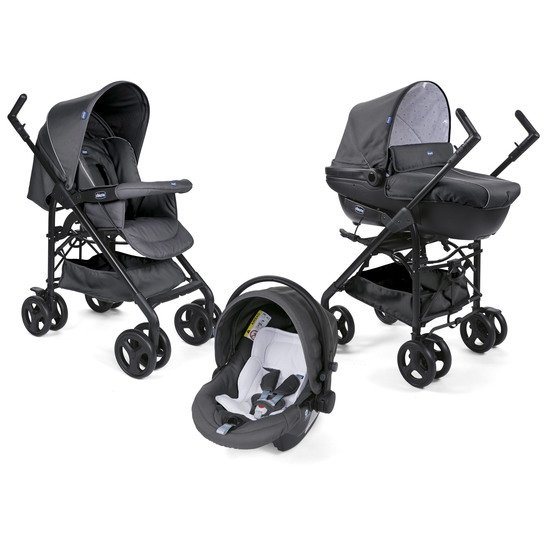 Trio Sprint Black Black Night  de Chicco