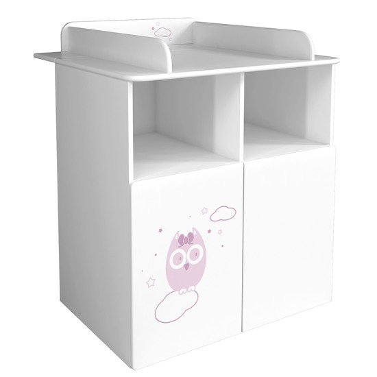 Tendre Hibou commode + plan à langer