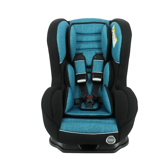 Cosmo Luxe + base inclinable Chiné bleu  de Formula Baby