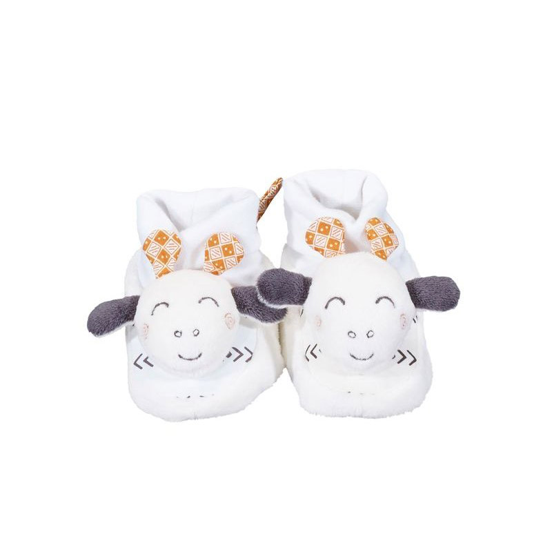 Kenza Chaussons  0-6 mois de Sauthon Baby's Sweet Home
