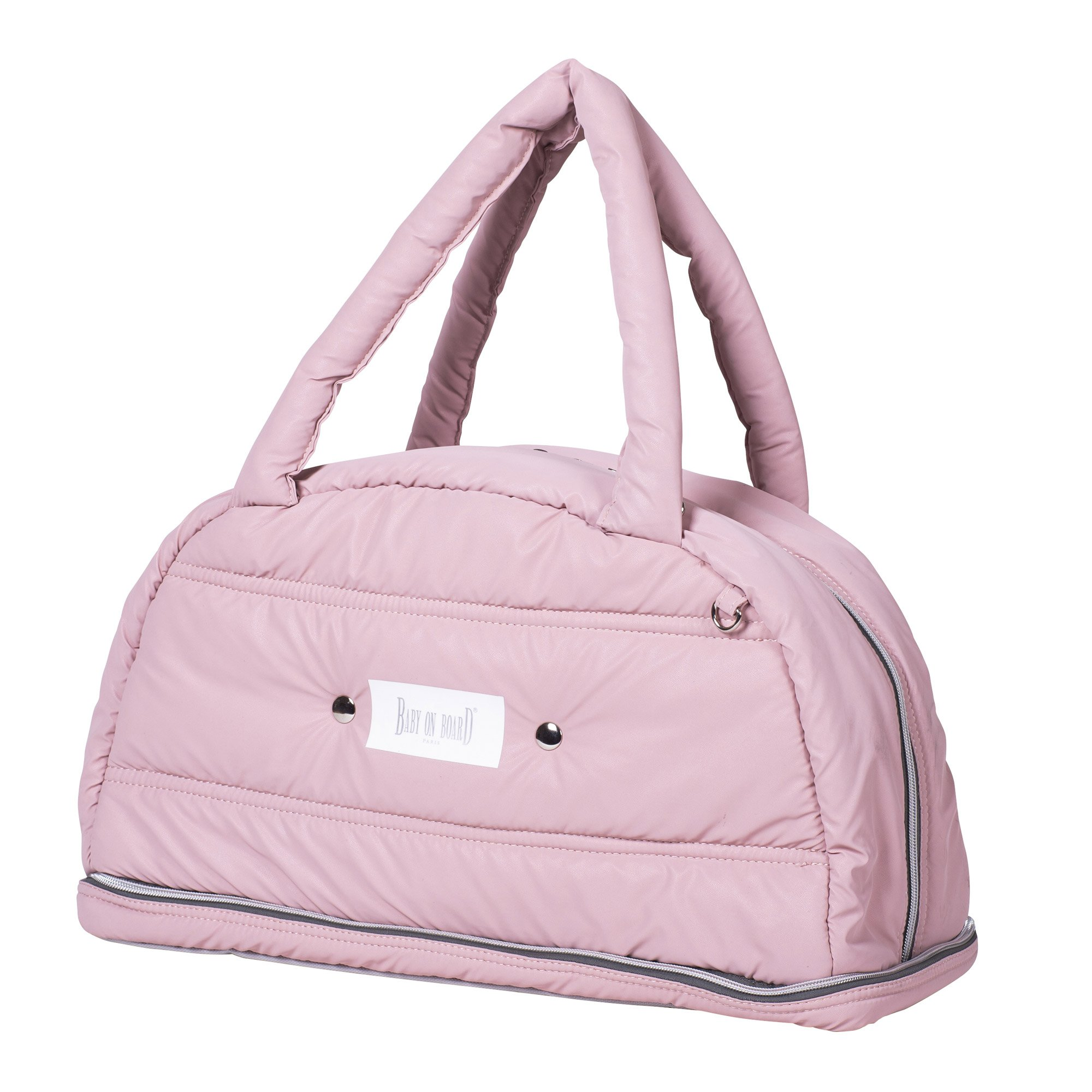 Sac doudoune Chic in rose  de Baby On Board