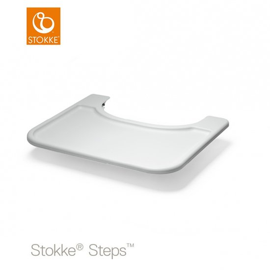 Tablette Steps pour Baby Set Tray Gris   de Stokke®