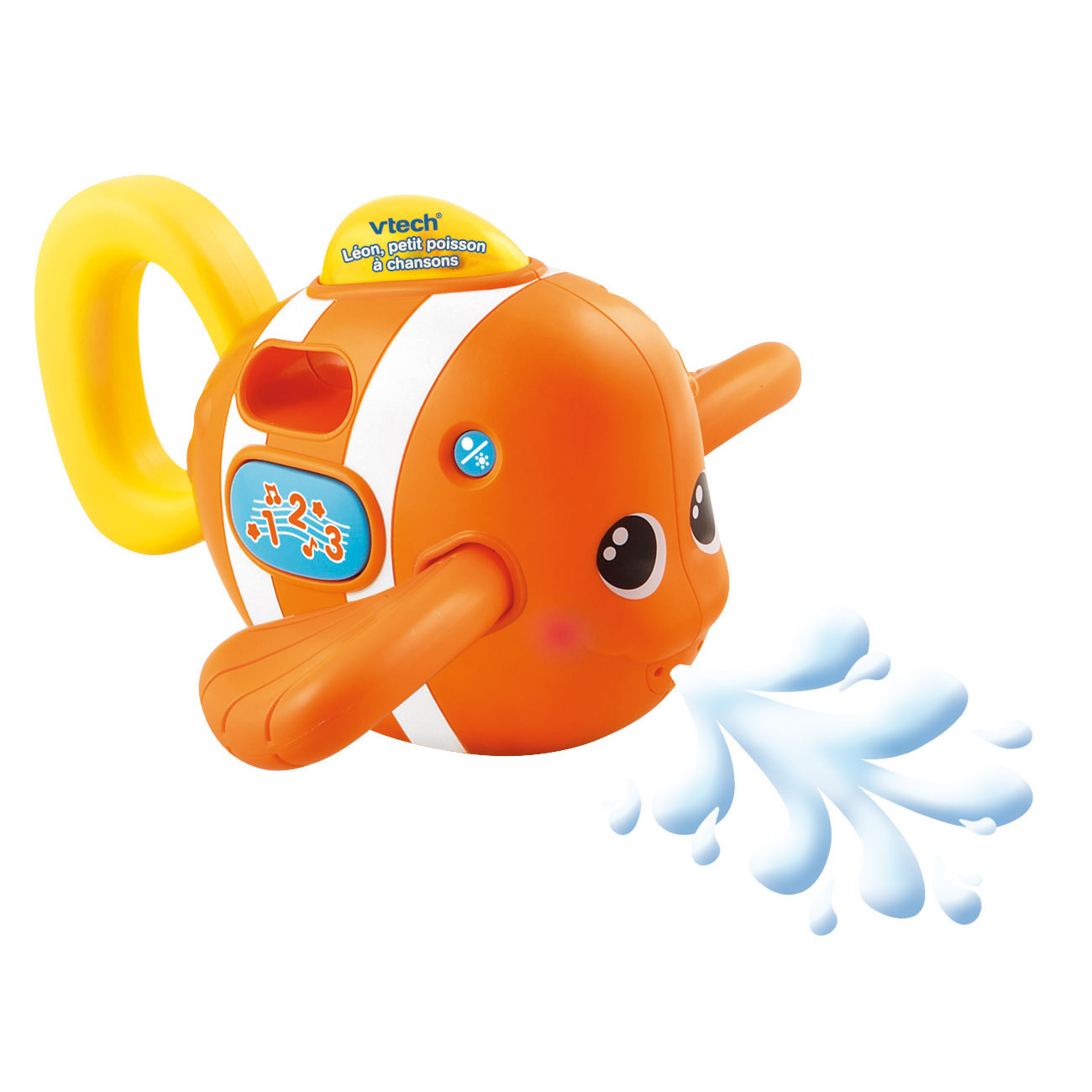 Léon p'tit poisson à chansons Orange  de Vtech