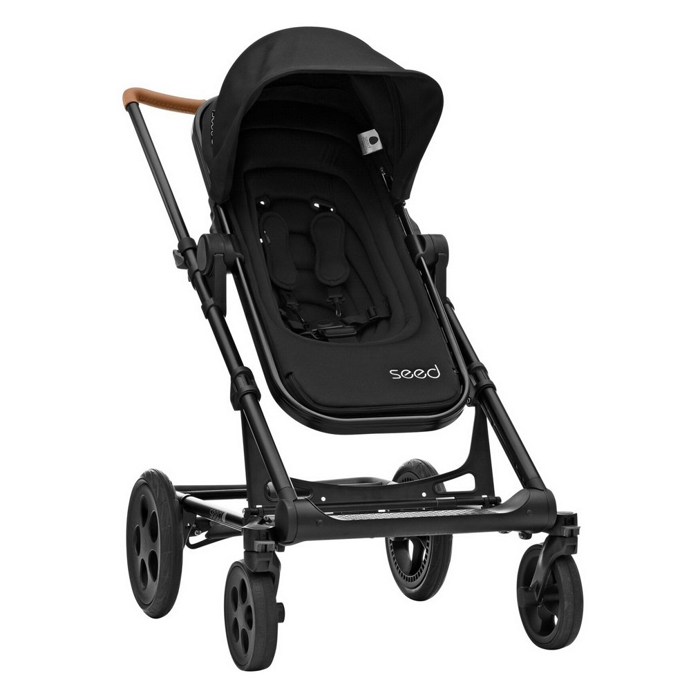 Papilio Seed Black Cognac / Leather Black  de Britax