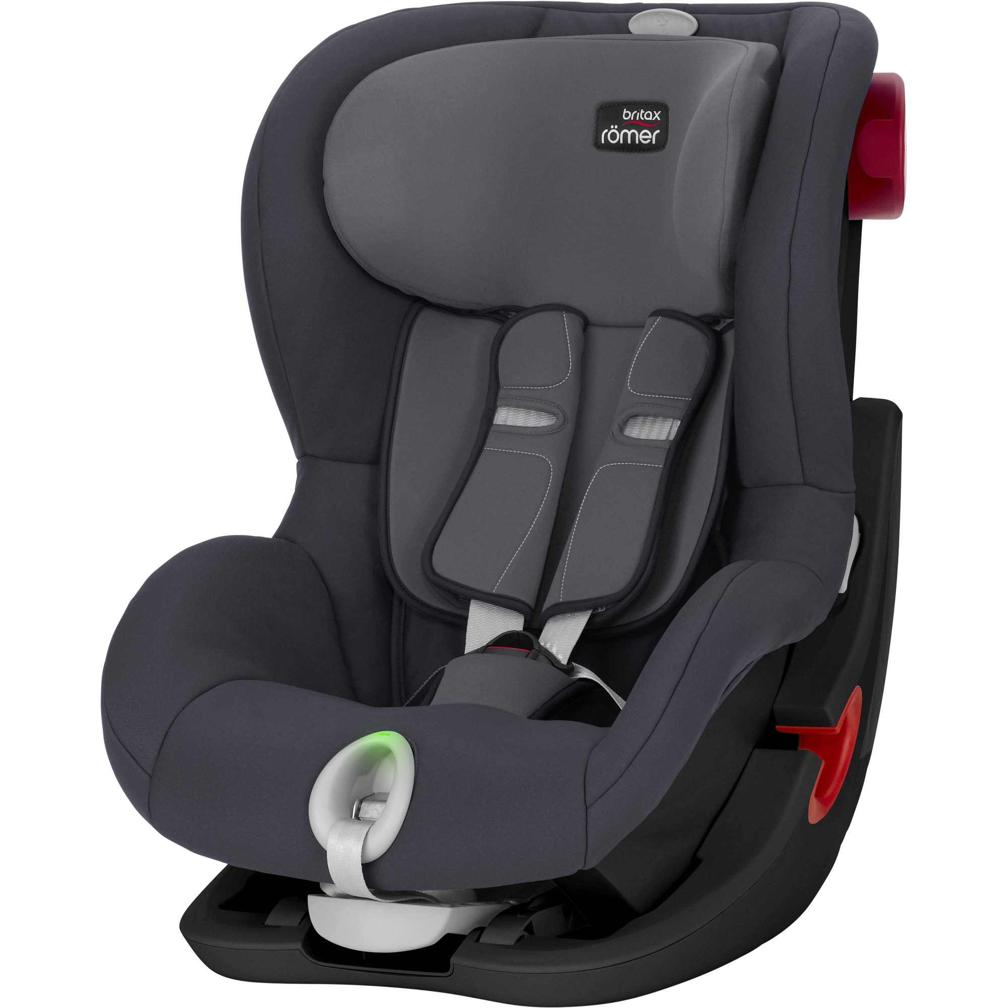 King II LS Storm Grey Black Series  de Britax