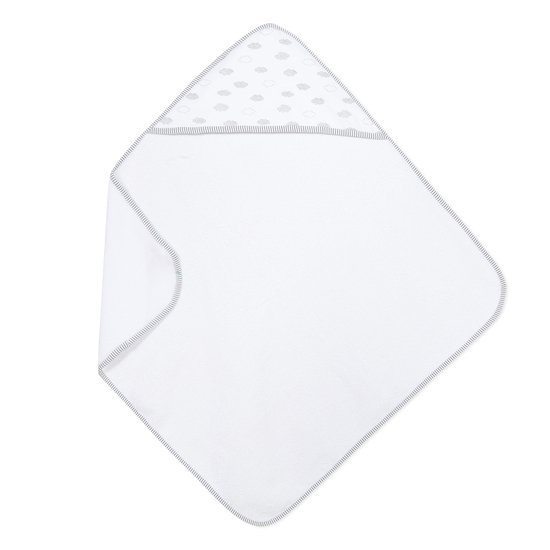 Cape de bain Blanc Taille Unique de Absorba