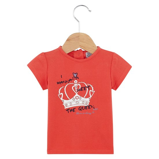 T-shirt manches courtes collection English Summer Camp Fille