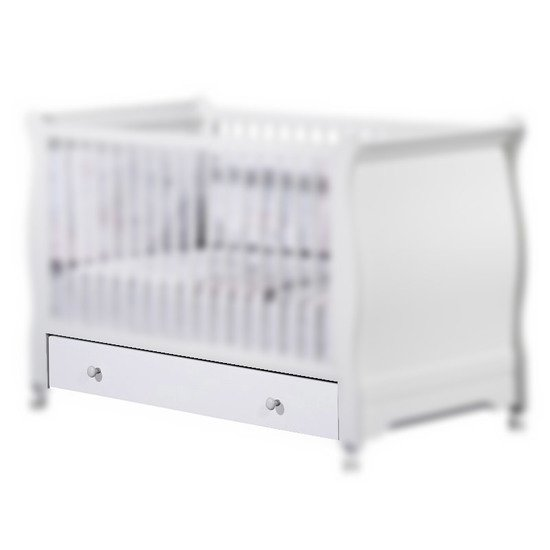 Elodie tiroir Little Big Bed 140 x 70 cm Blanc  de Sauthon Baby's Sweet Home