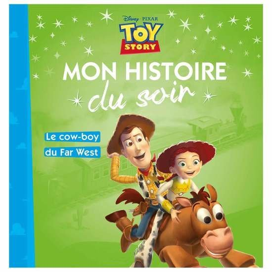 Histoire du soir Toy Story le cow boy du far west  de Hachette Jeunesse Disney