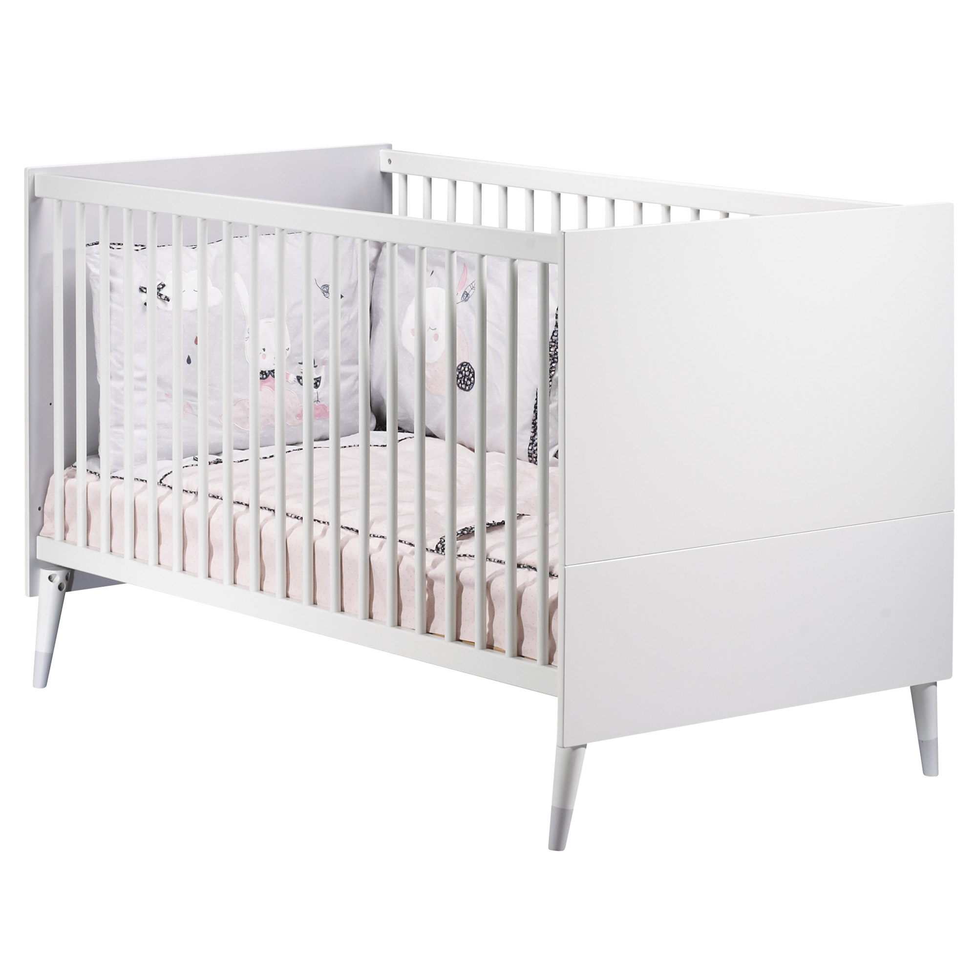 Candie lit Little Big Bed 70x140 Blanc  de Sauthon Baby's Sweet Home