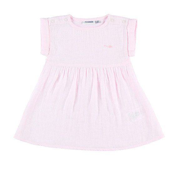 Ensemble robe et bloomer Fille Collection Cocon Eté Rose  de Noukies
