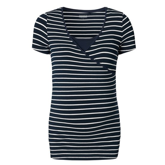 T-shirt d'allaitement Lely YD Dark Blue XS de Noppies