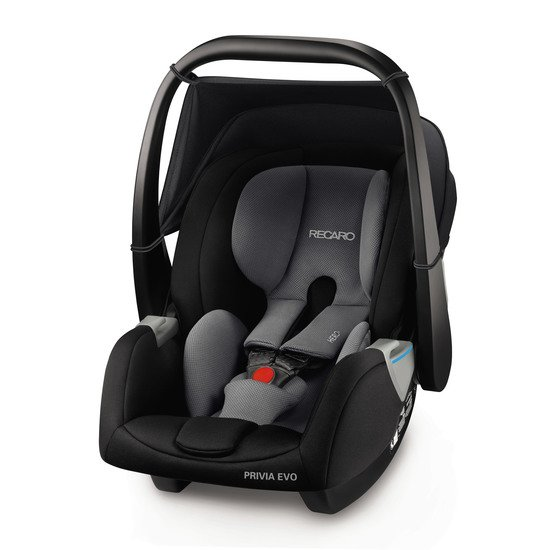 Privia Evo Carbon Black  de Recaro